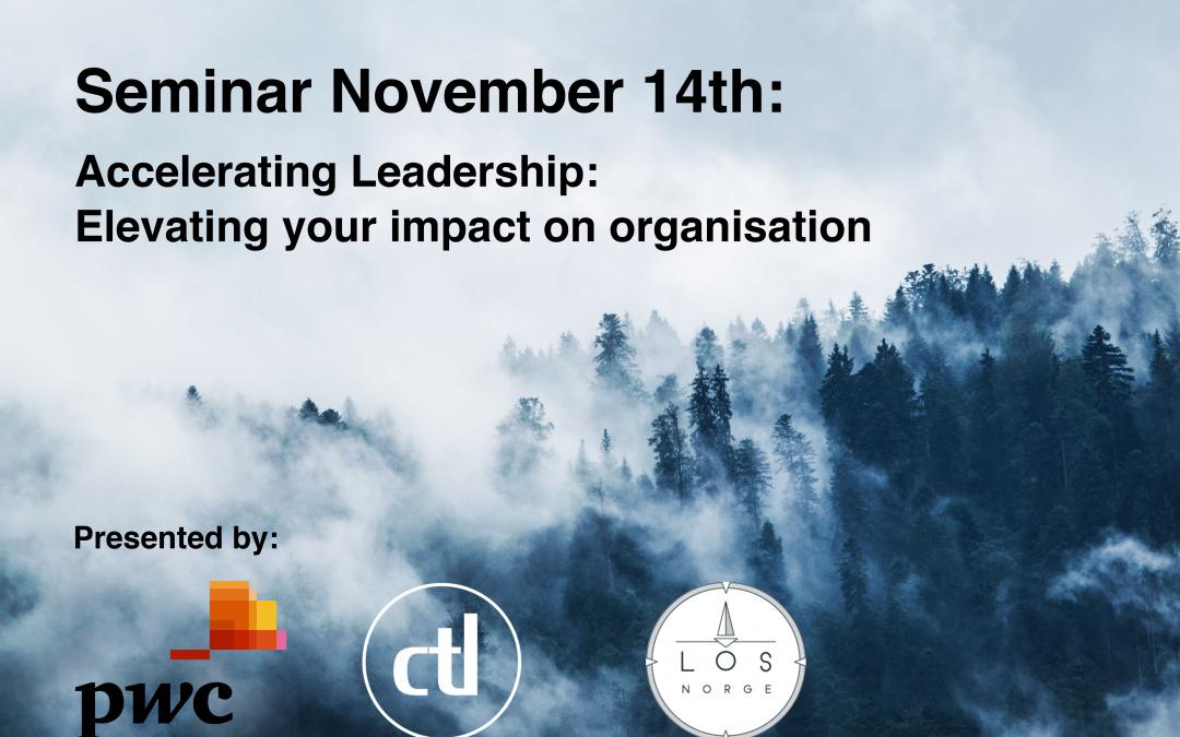 Seminar: Accelerating Leadership